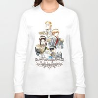 attack on titan Long Sleeve T-shirts featuring OriSor Shingeki No Kyojin Royal Fanart  Attack on Titan by Mistiqarts by Mistiqarts