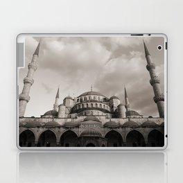 Blue Mosque in Grey Laptop & iPad Skin
