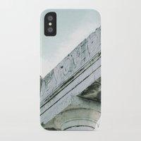 roman iPhone & iPod Cases featuring roman Ruin by Upperleft Studios