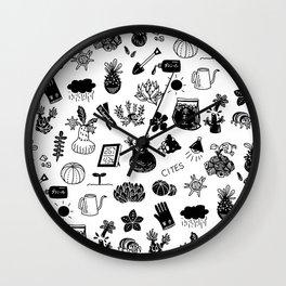 caudex mania ver.2 Wall Clock