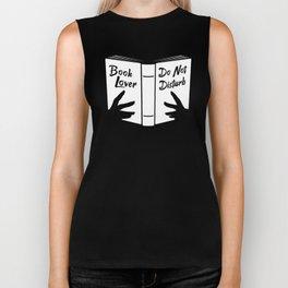 Book Lover, Do Not Disturb Biker Tank