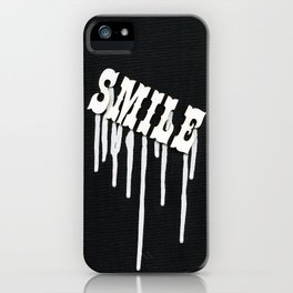 Dripping Smile iPhone Case