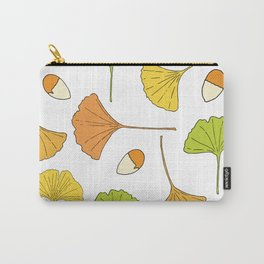 Ginkgo Tree Pattern Carry-All Pouch