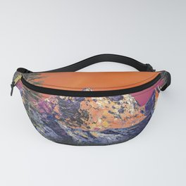 Mountains in Canada Fanny Pack