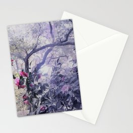 entering magical place Stationery Cards