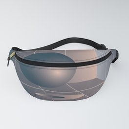 Shape study #6 - Memphis Collection Fanny Pack