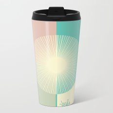 Summer Breeze Metal Travel Mug