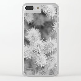 Cactus Detail Clear iPhone Case