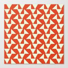 Orange summer Canvas Print