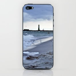 STORMY BALTIC iPhone Skin