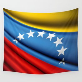 Flag of Venezuela Wall Tapestry