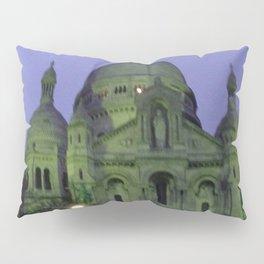 Sacre Coeur at night Pillow Sham