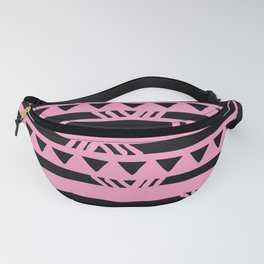 Mid-Century Modern Palm Springs Pink Party Pattern Fanny Pack