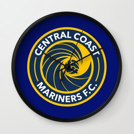 Central Coast Mariners Wall Clock