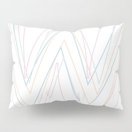 Intertwined Strength and Elegance of the Letter W Pillow Sham