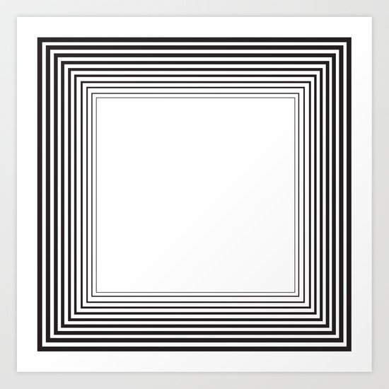 Seemingly Endless Art Print