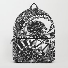 Circle Doodle Backpack