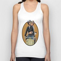 vespa Tank Tops featuring Vespa by _JECR_