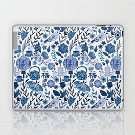 Chinoiserie Tea in the Garden Laptop & iPad Skin