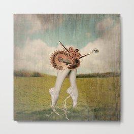 Let's dance Machine art Metal Print