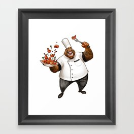 Chef Demetrius Gumbo Framed Art Print