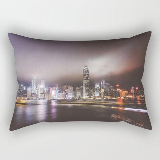 Night city 5 Rectangular Pillow