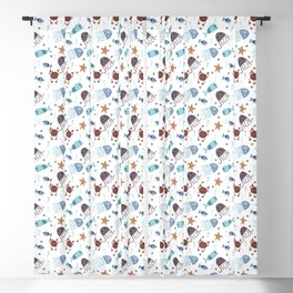 Sea animals Blackout Curtain