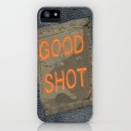 Good Shooting iPhone Case