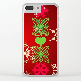 My Love of Christmas! Clear iPhone Case