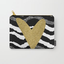 Heart on waves Carry-All Pouch