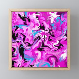Fluidity Framed Mini Art Print
