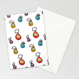 digital keychain pets Stationery Cards
