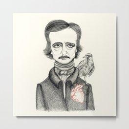 Allan Poe Metal Print
