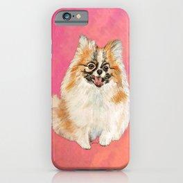 Twinki Gurl Pomeranian iPhone Case