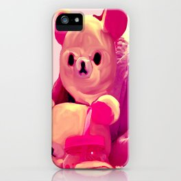 Can't Bear It Anymore iPhone Case