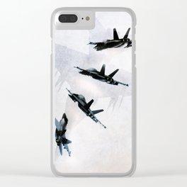 Superhornet Clear iPhone Case