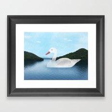 Sea duck Framed Art Print