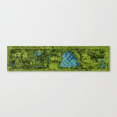 Central Park, A View From Above Canvas Print