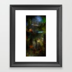Somewhere in the future Framed Art Print