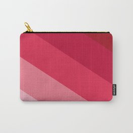 Pink parallels Carry-All Pouch