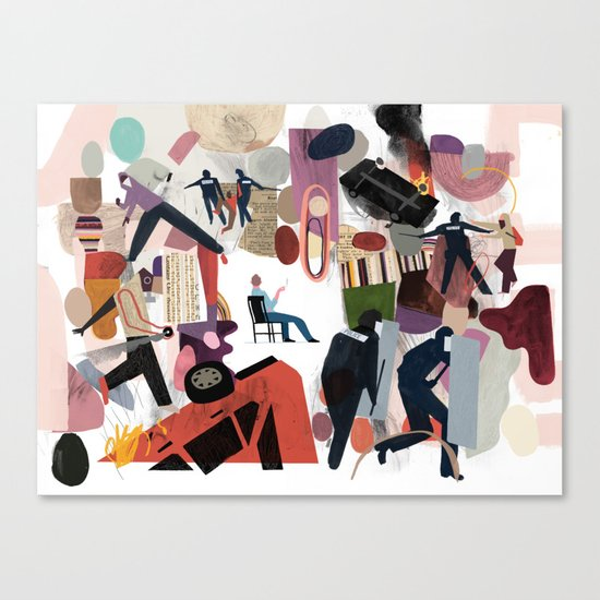 Submission Canvas Print