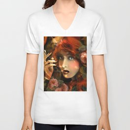 Experiment -Lillian Gish- Unisex V-Neck