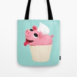 Rosa Cupcake blue Tote Bag