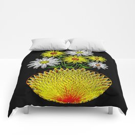 String Art Flowers Comforters