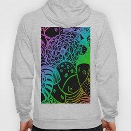 Rainbow Fishes Hoody