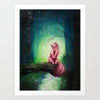 kodama Art Prints featuring KODAMA by _Shara_