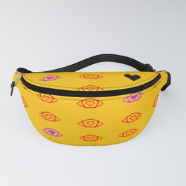 Pixel Eyes and Hearts Fanny Pack
