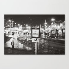 bus stop Canvas Print