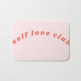 self love club Bath Mat
