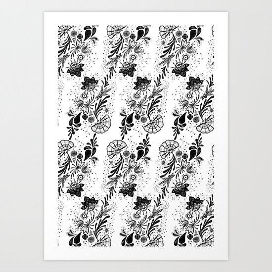 Lace 2  Art Print